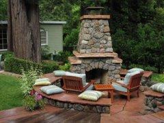 Outdoor Fireplace Ideas  Outdoor Fireplace Ideas